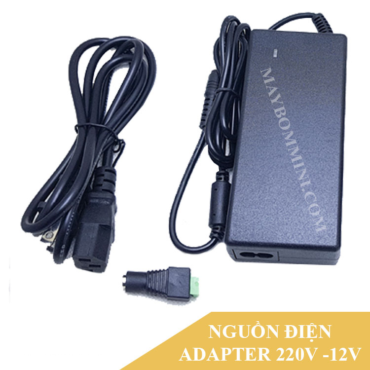 Adapter 220v Ra 12v Cho May Bom Mini