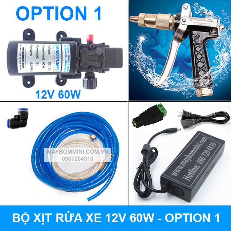 Bo Rua Xe Mini 12v 60w Option 1