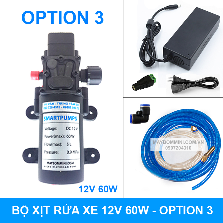 Bo Rua Xe Mini 12v 60w Option 3