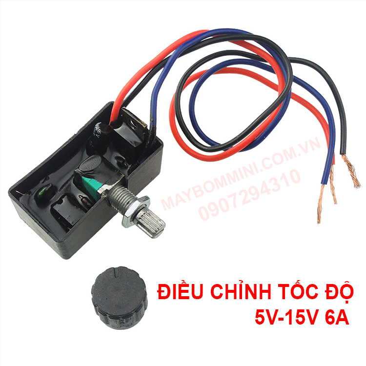 Dieu Chinh Toc Do 12v 6a