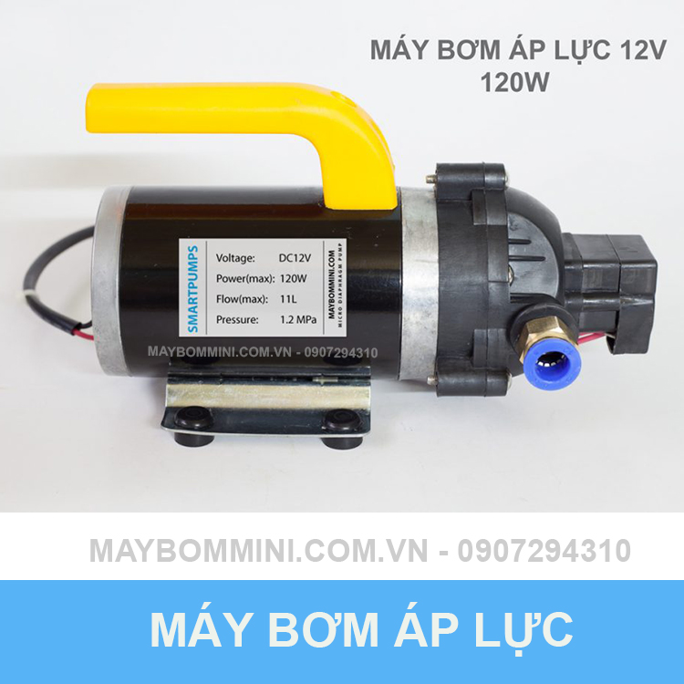 May Bom Ap Luc Mini 12v 120w