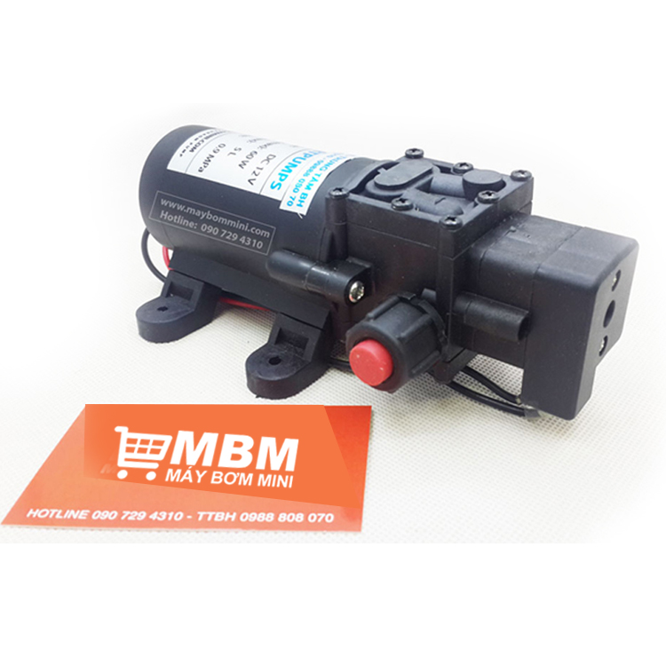 May Bom Ap Luc Mini 12v