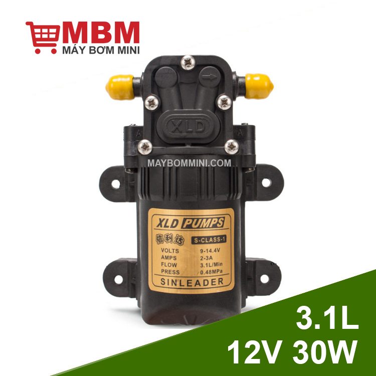 May Bom Ap Luc Mini 12v 30w