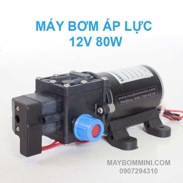 May Bom Ap Luc Mini 80w 12v