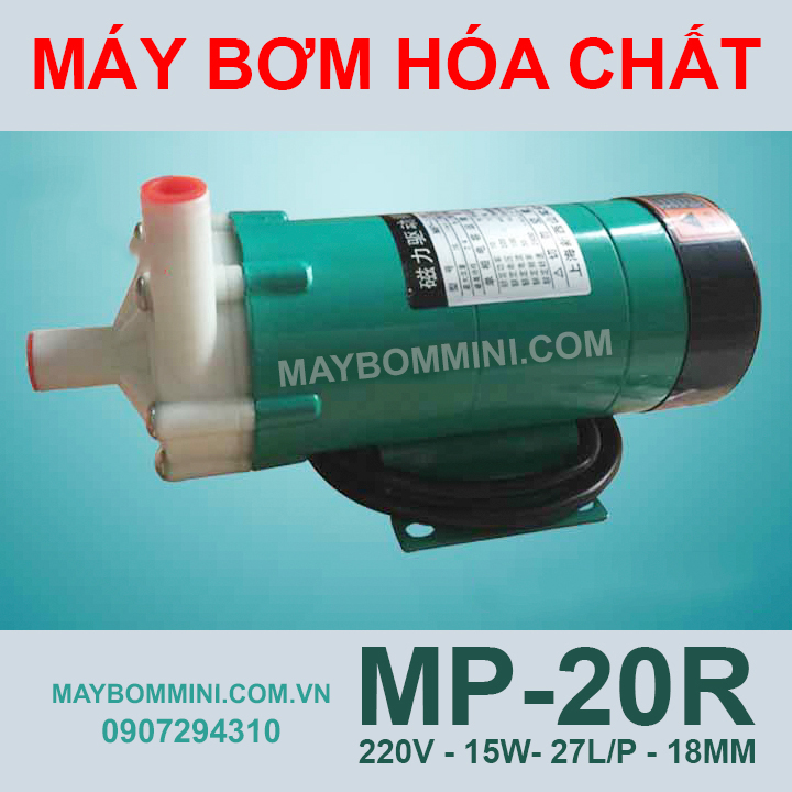 May Bom Hoa Chat An Mon 220v MP 20R