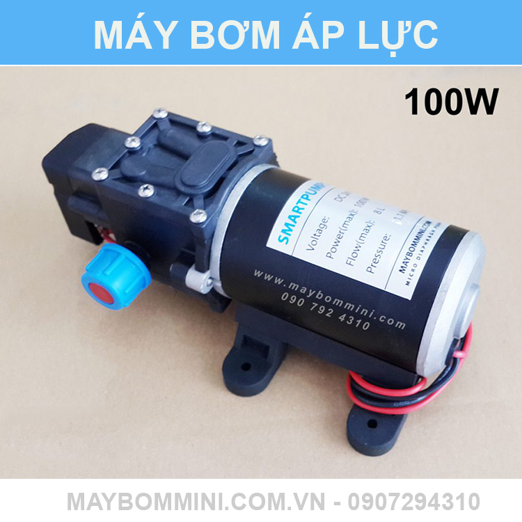 May Bom Hoa Chat Mini 12 24v 12v