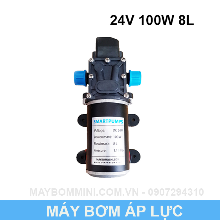 May Bom Mini 24v 100w