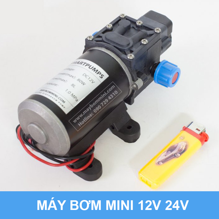 May Bom Nuoc 12v Ap Luc 80w