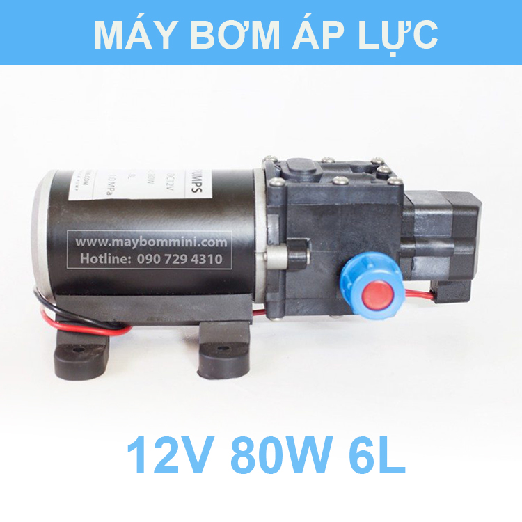 May Bom Nuoc Mini 12v