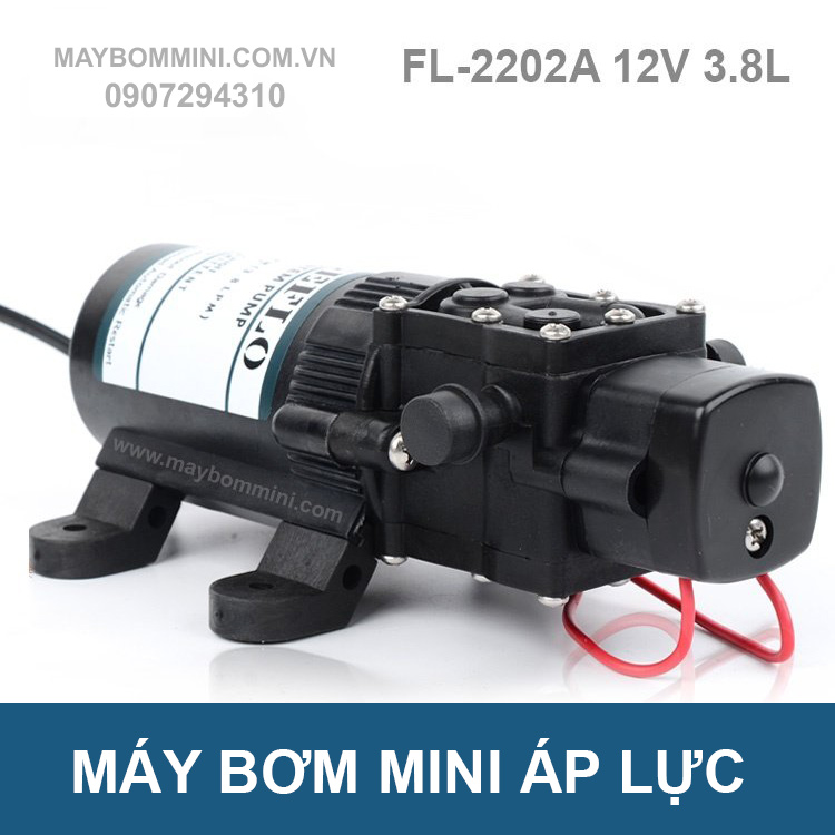 May Bom Nuoc Mini 12v Fl 2202a