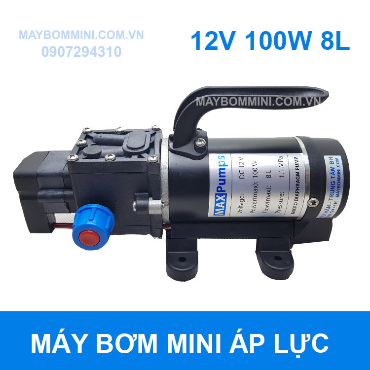 May Bom Mini 12v 100w