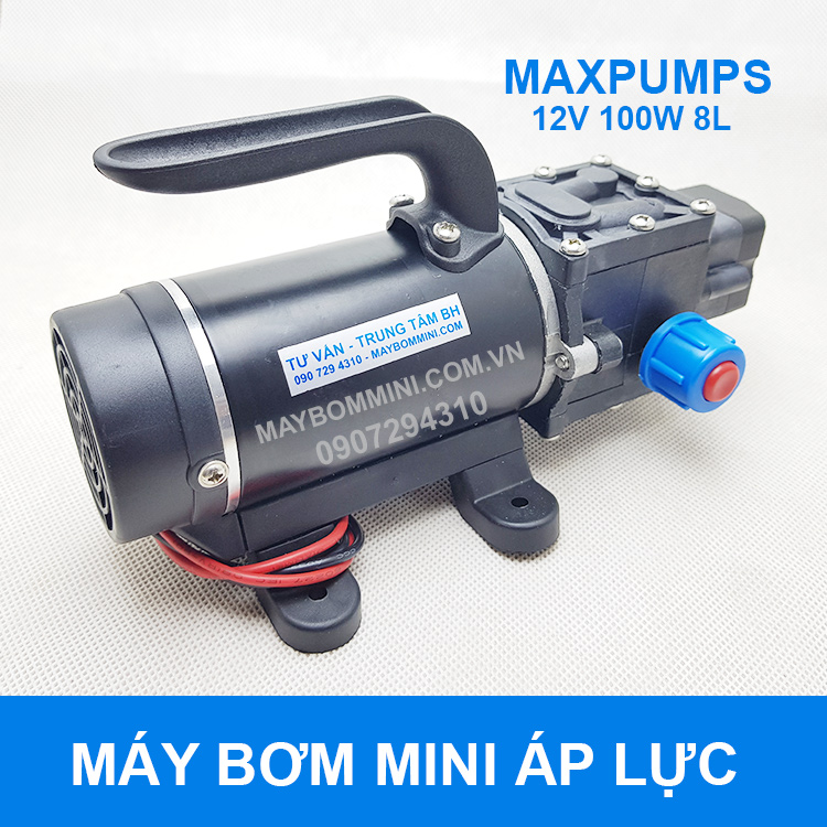 May Xit Rua Xe May Oto 12v 100w