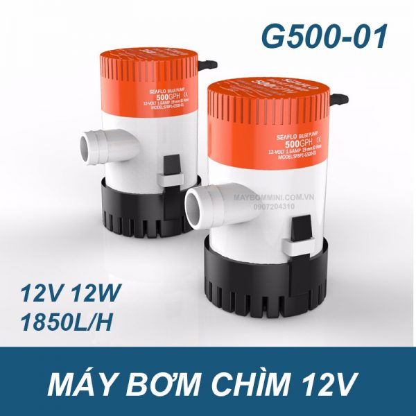 May Bom Nuoc Ngap 12v An Toan