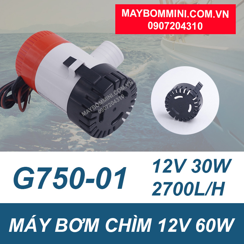 May Bom Nuoc Thai Mini 12v